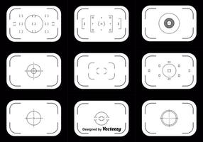 Viewfinder Vector Set