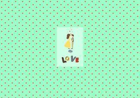 Valentijnsdag patroon achtergrond