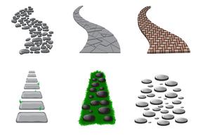 Free Stone Path Vektor