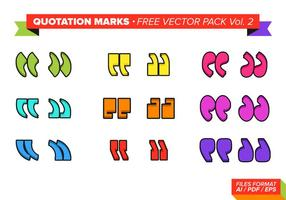 Zitat Mark Free Vector Pack Vol. 2