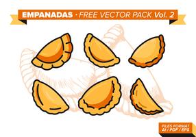 Empanadas pack vectoriel gratuit vol. 2