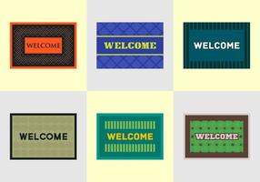 Free Welcome Mat Vectors