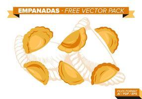 Empanadas pack vecteur gratuit