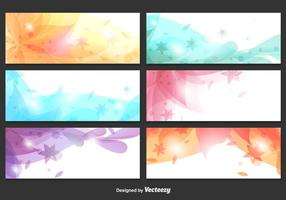 Abstract Floral Backgrounds vector