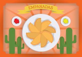 Vecteur Empanada