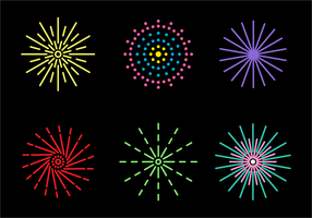 Gratis Fire Crackers Icon Vector