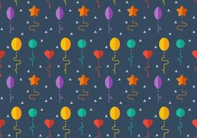 Free Balloons Pattern #7 vector