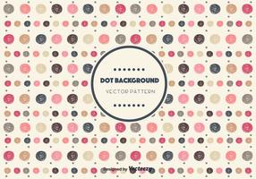 Drawn Dot Background Vector