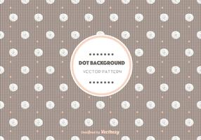 Chocolate Dot Pattern Vector