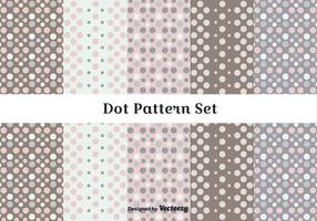 Subtiele Dot Pattern Vector Set