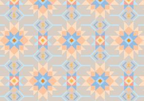 Melocotón y fondo abstracto azul