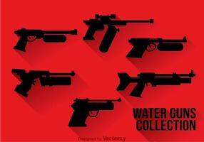 Waterpistool silhouet