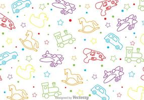 Kinder Spielzeug Muster