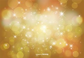 Abstract Bokeh and Glitter Background Illustration