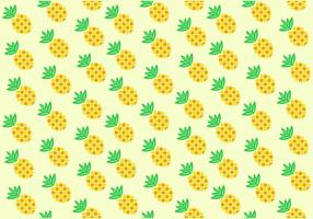 Seamless Pineapple Ananas Pattern vector