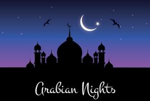 Ilustración Arabian Nights