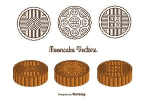 Mooncake Vectors