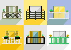 Balcony Vector Pack