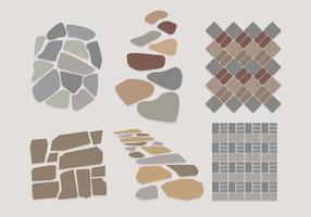 Stone Path Vectors