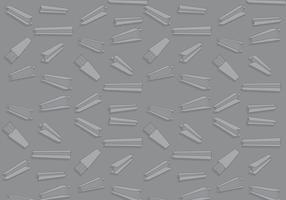 Vectores de viga de acero