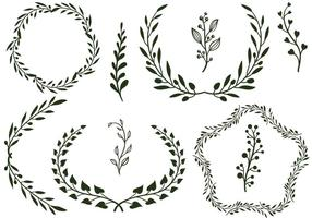 Freie Laurels Vektoren