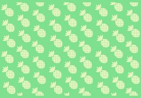 Seamless Solid Color Pineapple Pattern  vector