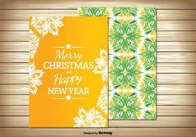 Tarjeta de Navidad hermosa