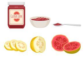 Guava Jam Vectors
