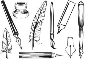 Vectores libres de la escritura