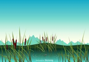Gratis Swamp Vector Illustration