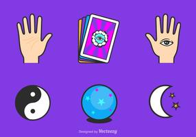 Free Fortune Teller Vector Icons