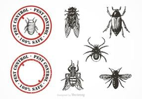 Gratis Pest Control Vector Set