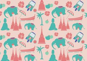 Modern Thai Pattern Vector