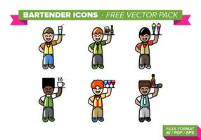 Barmixer Icons Free Vector Pack