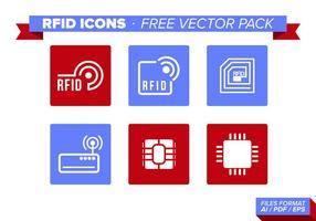 Rfid Icons Free Vector Pack