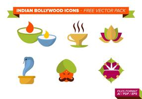 Indiase Bollywood Gratis Vector Pack