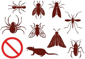 Freie Schädlingsbekämpfungsvektoren