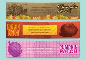 Pumpkin Patch Banners