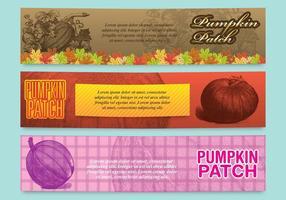 Pumpkin Patch Banners