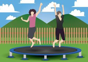 Trampolin Vector