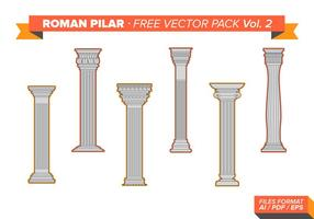 Roman Pillar Free Vector Pack Vol. 2