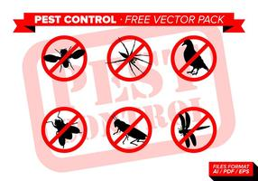 Pest Control Pack Vector Libre