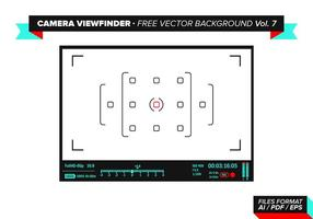 Camera Viewfinder Free Vector Background Vol. 7
