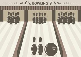 Bowling Alley Vektor