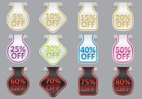 Wobbler Discount Vectors