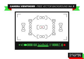 Camera Viewfinder Free Vector Background Vol. 8