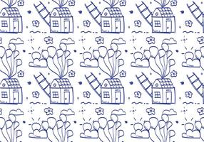 Free Balloons Pattern #10 vector