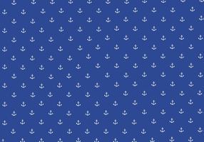 Nahtlose Anker Muster Hintergrund Vektor