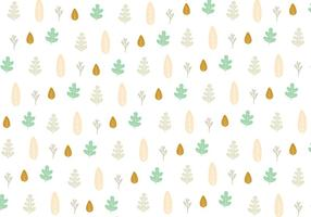Leaf icon pattern background