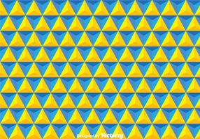 Yellow And Blue Triangles Background vector
